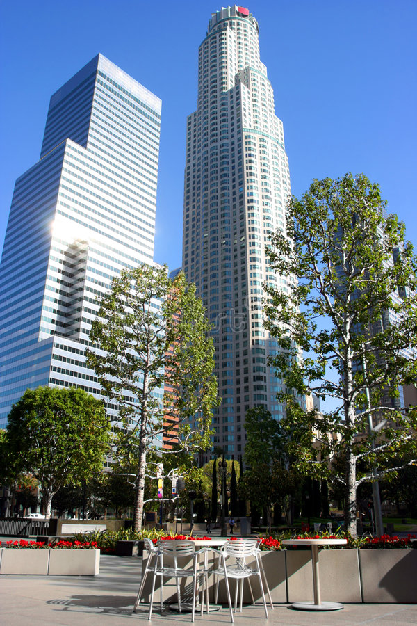 Los Angeles, downtown stock image