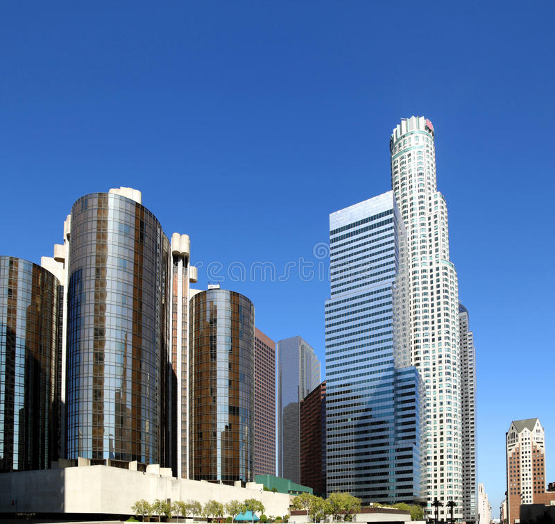 Download Los Angeles Downtown stock image. Image of exterior, downtown - 33797261