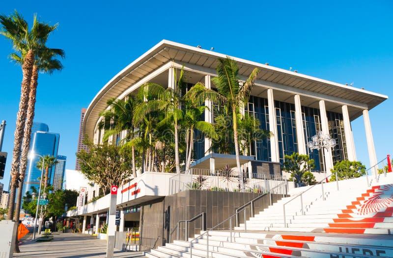 Los Angeles du centre Dorothy Chandler Pavilion et centre de musique photo stock