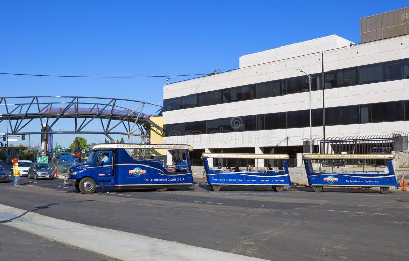 Los Angeles, los E.E.U.U., autobús a Universal Studios fotografía de archivo libre de regalías