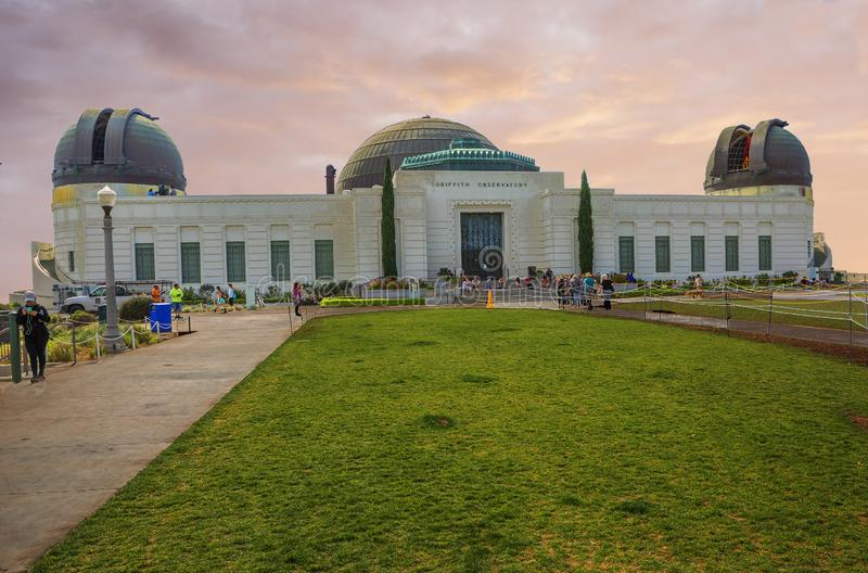 Los Angeles, los E.E.U.U., Griffith Observatory imágenes de archivo libres de regalías