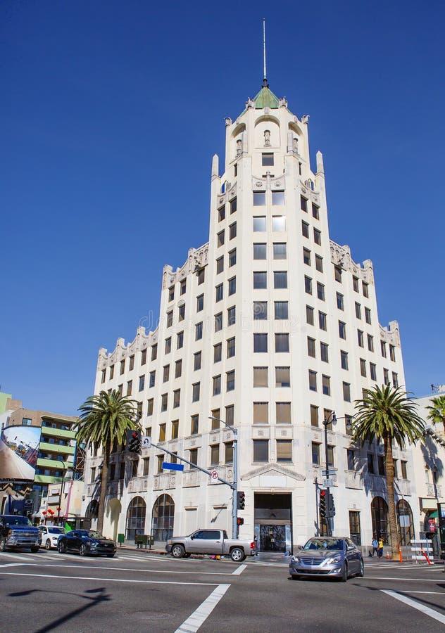 Los Angeles, Etats-Unis, 2016 : Première banque fédérale de 2h25 à Hollywood photo stock
