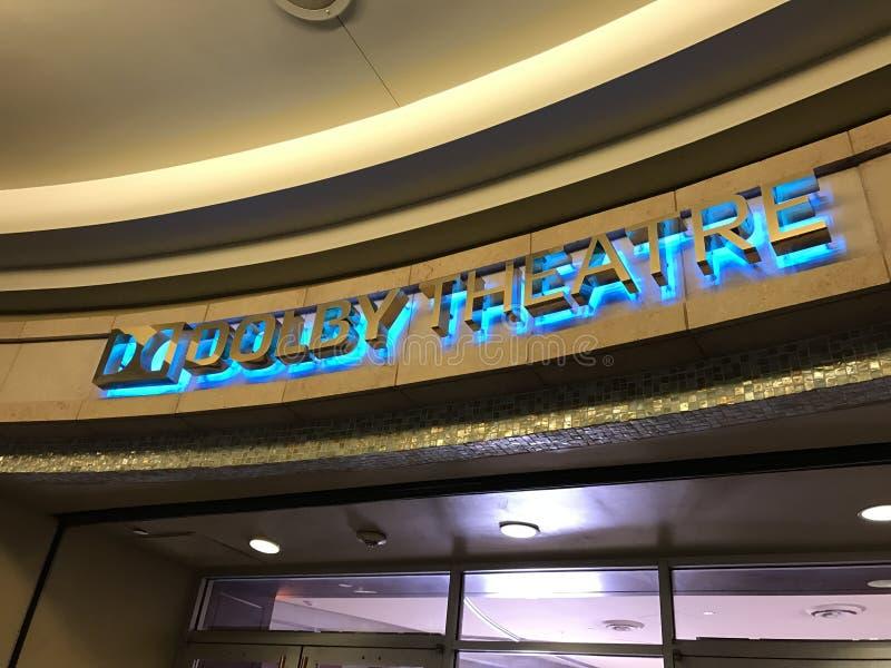 LOS ANGELES, FEB - 21: Oskar przygotowania przy Dolby teatrem, 2017 w Hollywood, Los Angeles, Kalifornia obrazy royalty free
