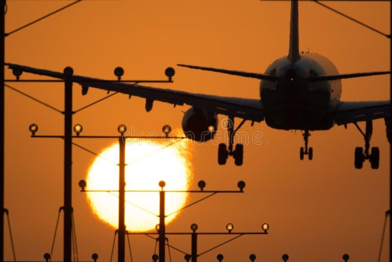 Los Angeles flygplats royaltyfri foto