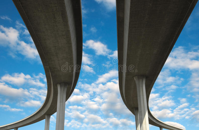 Los Angeles Freeway stock image