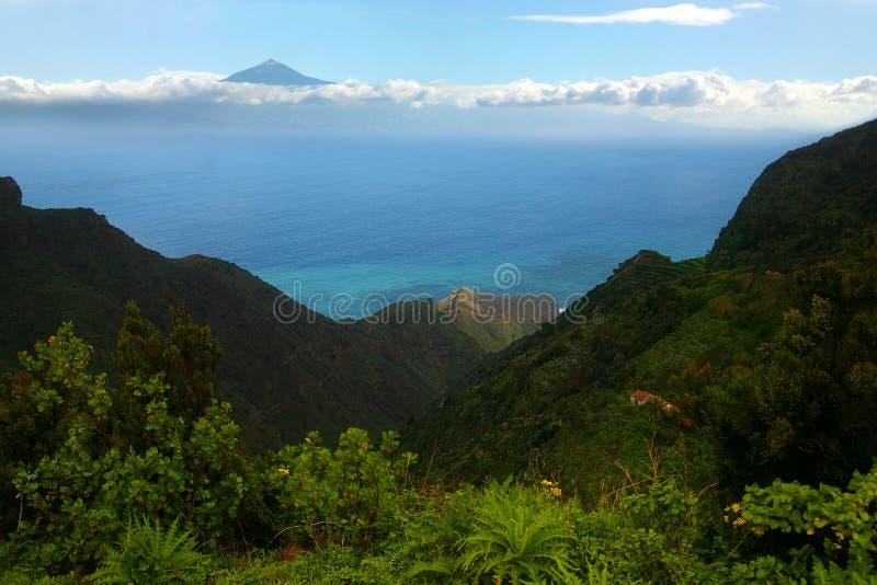 Los Angeles Gomera, Tenerife fotografia royalty free