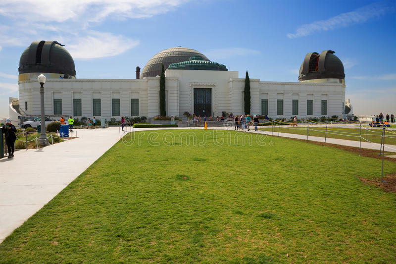 Los Angeles Griffith Observatory fotografia stock