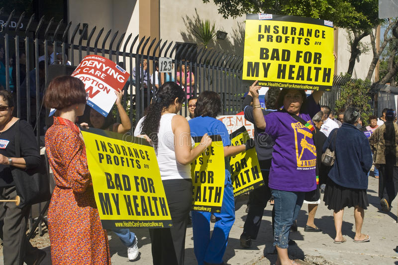 Los Angeles Health Care Rally