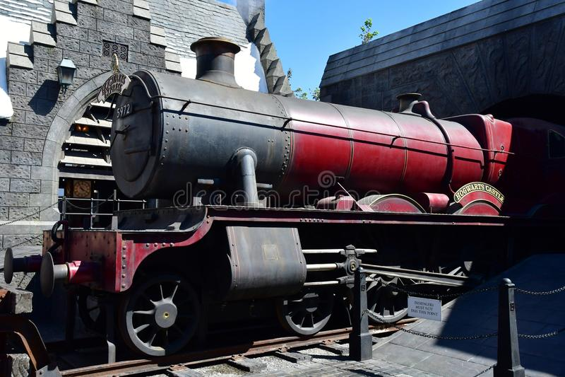 Los Angeles, Hollywood, USA - july 16 2016 : Universal studios park royalty free stock image
