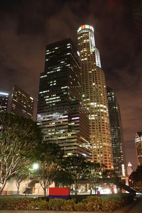 Los Angeles im Stadtzentrum gelegen lizenzfreies stockfoto