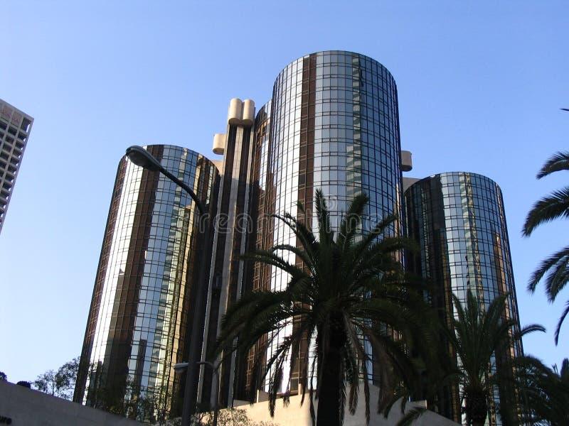Los Angeles im Stadtzentrum gelegen lizenzfreie stockbilder