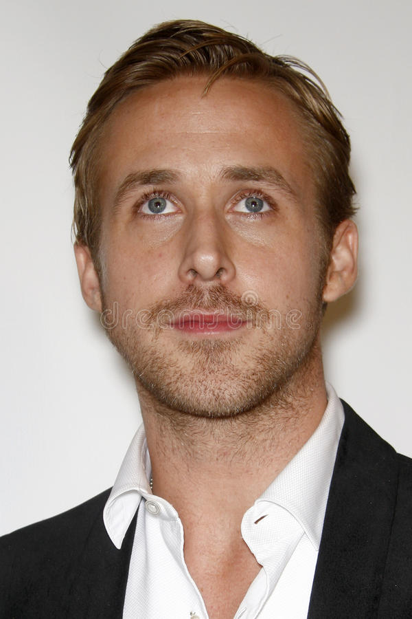 Ryan Gosling royaltyfria bilder