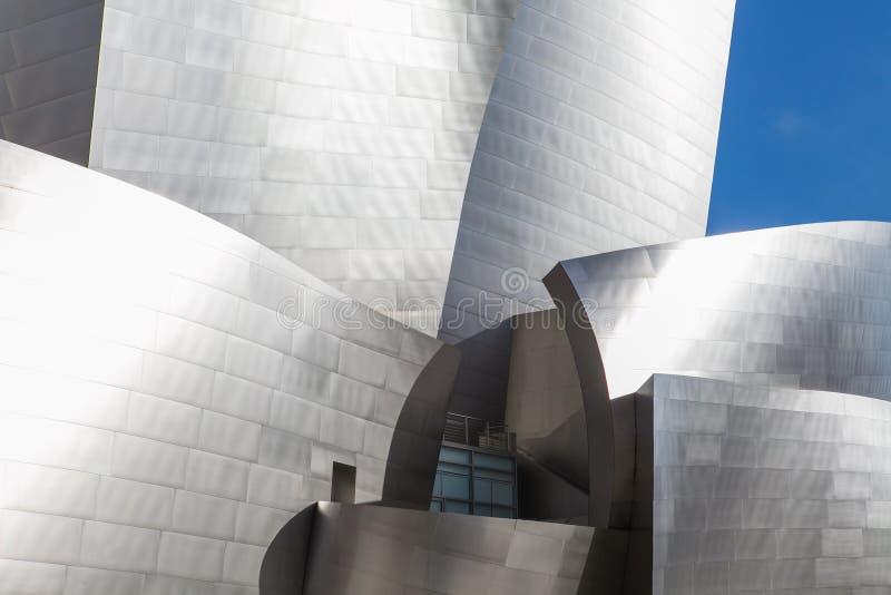 LOS ANGELES - JULI 26: Walt Disney Concert Hall binnen royalty-vrije stock fotografie