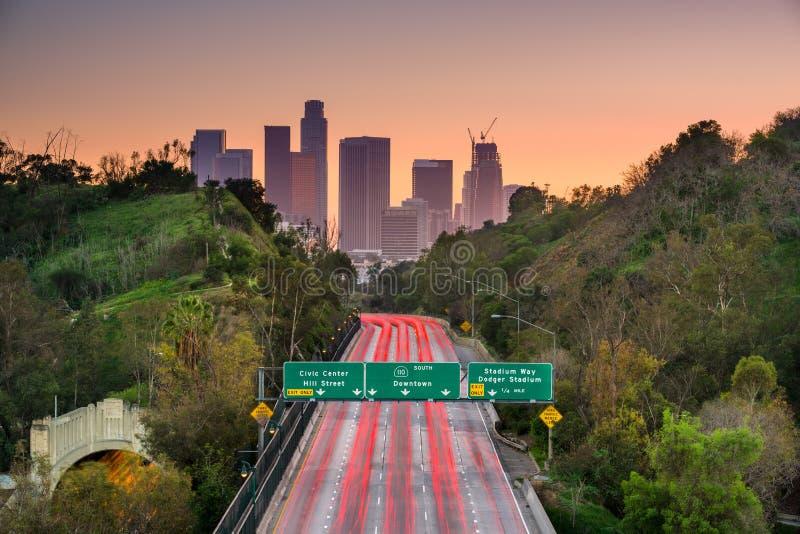 Los Angeles Kalifornien royaltyfria bilder