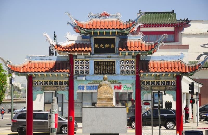 Los Angeles Kina stad arkivbilder