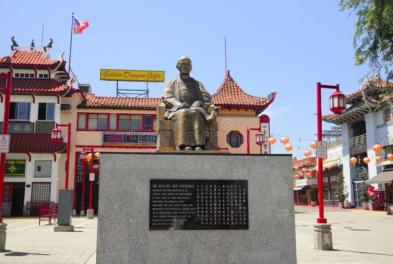 Los Angeles Kina stad fotografering för bildbyråer
