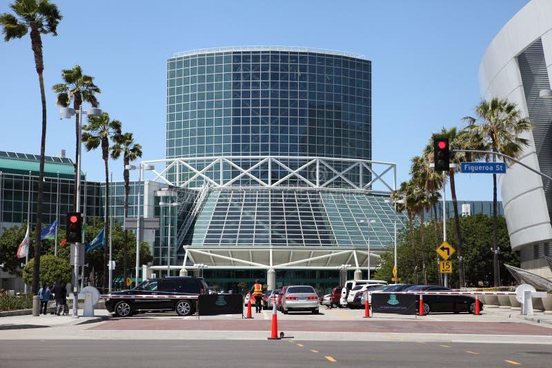 Los Angeles-Konferenzzentrum-Anhang lizenzfreies stockfoto
