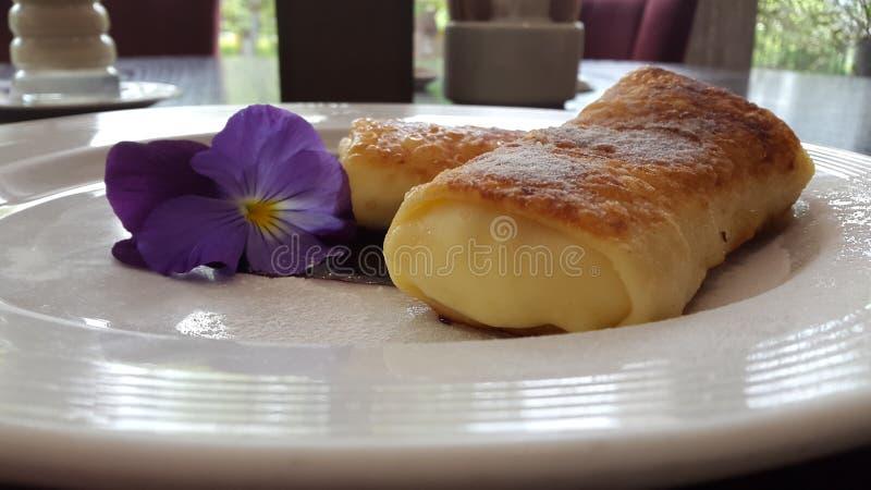 Los Angeles krepa w Reastaurant zdjęcie royalty free