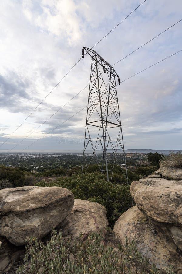 Los Angeles makttorn fotografering för bildbyråer