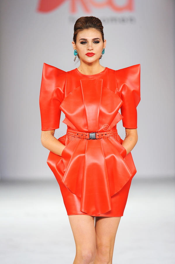 Free Los Angeles - March 14: Celebrities Walk The Runway At GO RED In Support Of American Heart Association Royalty Free Stock Photos - 30417388
