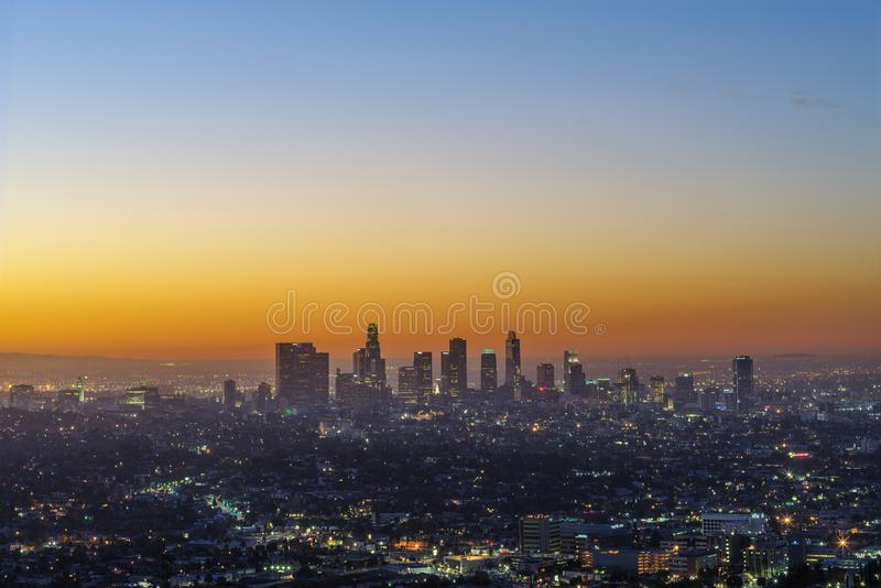Los Angeles Metropolitan Area stock images
