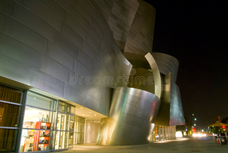 Los Angeles modern Architecture royalty free stock image