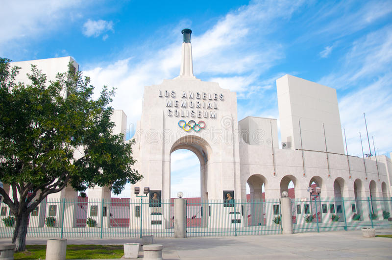 Download Los Angeles Olympic Coliseum Editorial Photo - Image: 26299241