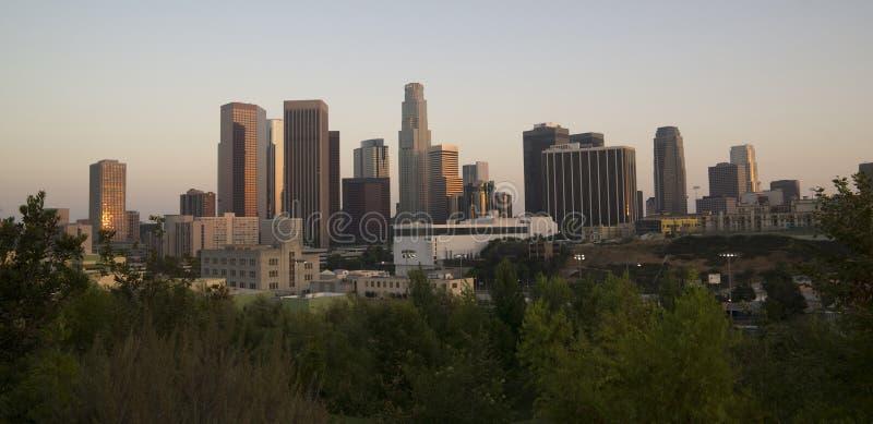Los Angeles orizzontale fotografia stock libera da diritti