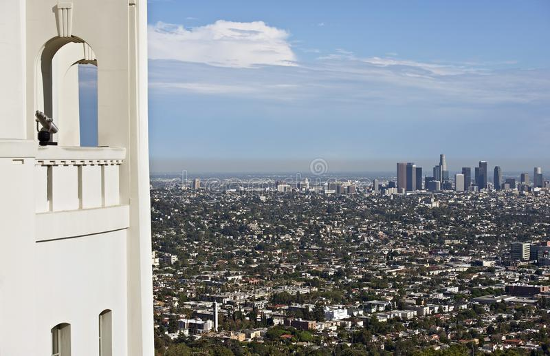 Los Angeles Overlook royalty free stock photo