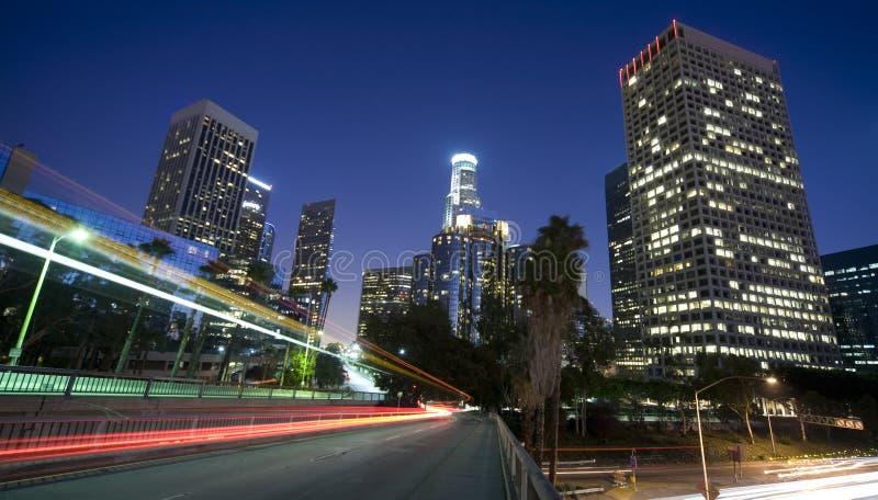 Los Angeles panoramica immagini stock
