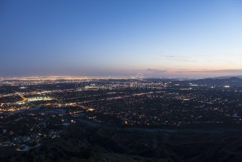 Los Angeles, Pasadena e Glendale California fotografia stock libera da diritti