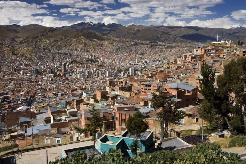 Los Angeles Paz Ameryka Południowa - Boliwia - obrazy royalty free