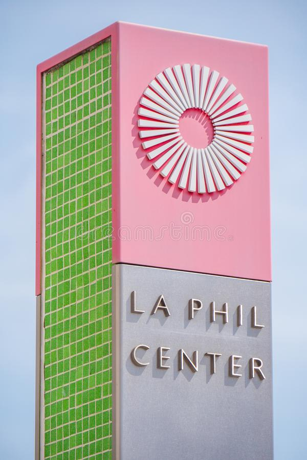 Free Los Angeles Philharmonic Center - CALIFORNIA, USA - MARCH 18, 2019 Stock Photography - 145052462