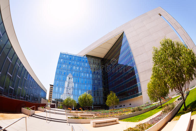 Los Angeles-Polizeidienststelle-Hauptsitze, LA stockfotos