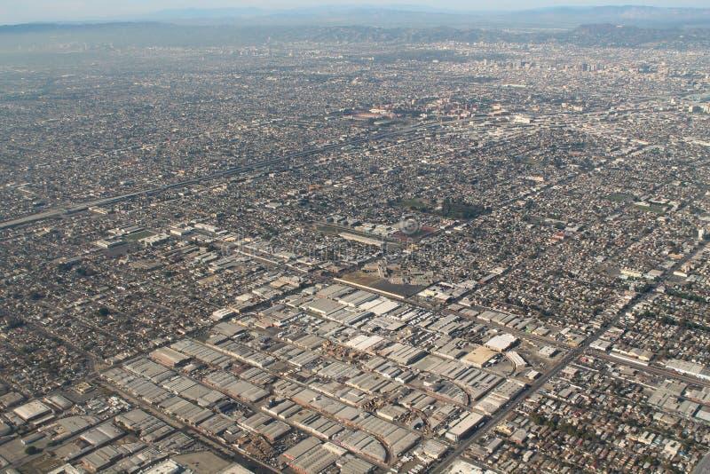 Los Angeles przedmieść anteny fotografia zdjęcie stock