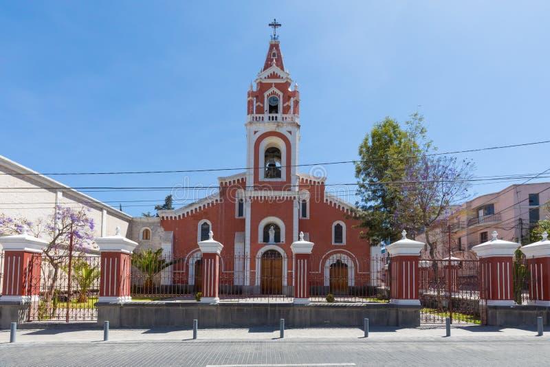 Los Angeles Recoleta kościelny Arequipa Peru fotografia royalty free