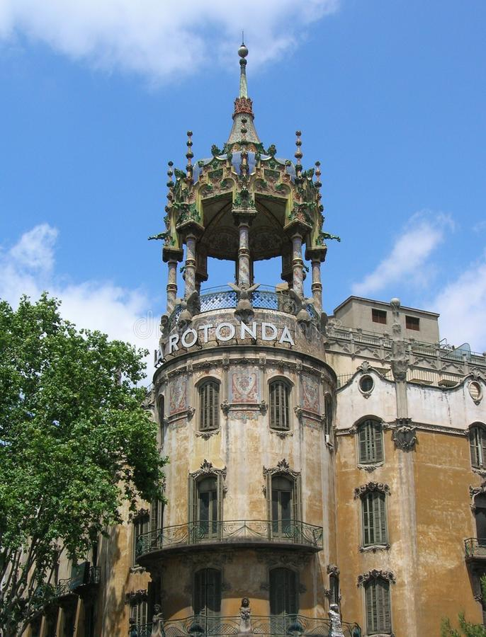 Los Angeles Rotonda Barcelona obraz royalty free