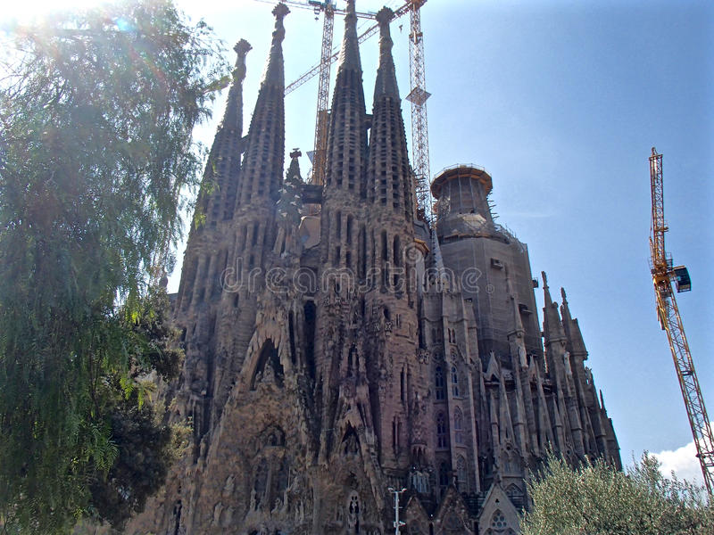 Los Angeles Sagrada Familia 4 obraz royalty free