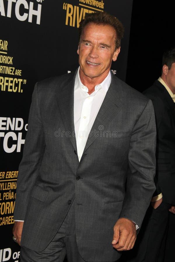 Arnold Schwarzenegger arkivbilder