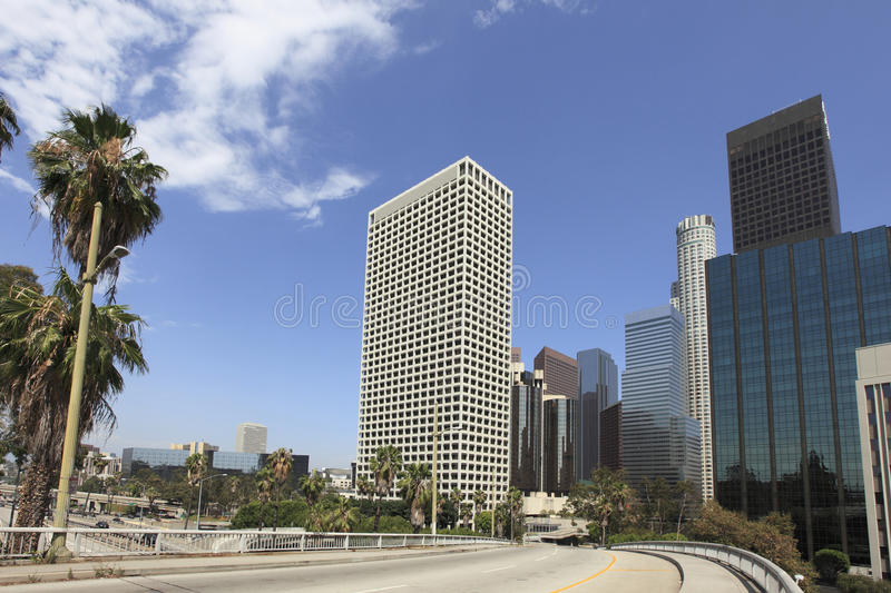 Download Los Angeles Skyline Royalty Free Stock Images - Image: 10286629