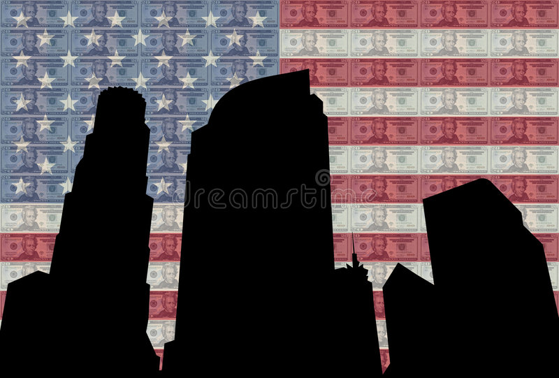 Download Los Angeles skyline stock illustration. Image of american - 2651425