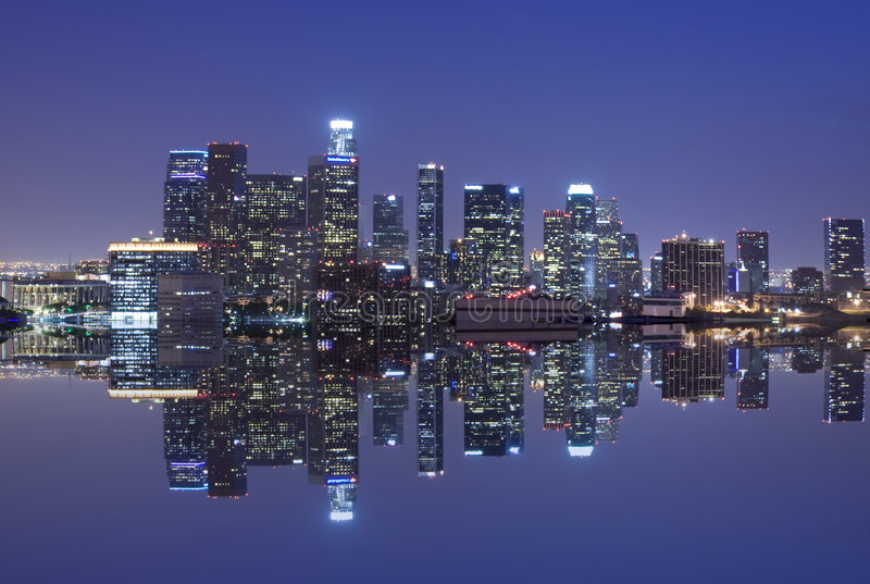 Download Los Angeles skyline stock photo. Image of building, residential - 5052202