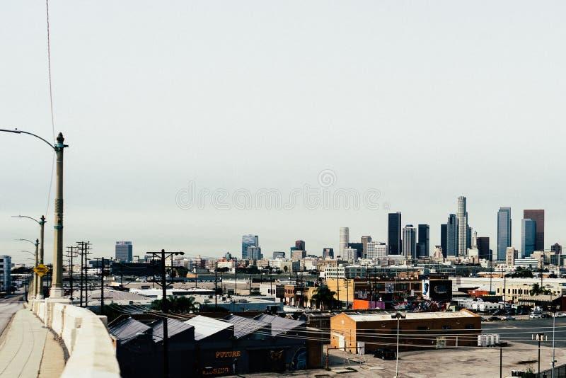 Los Angeles Skyline Free Public Domain Cc0 Image