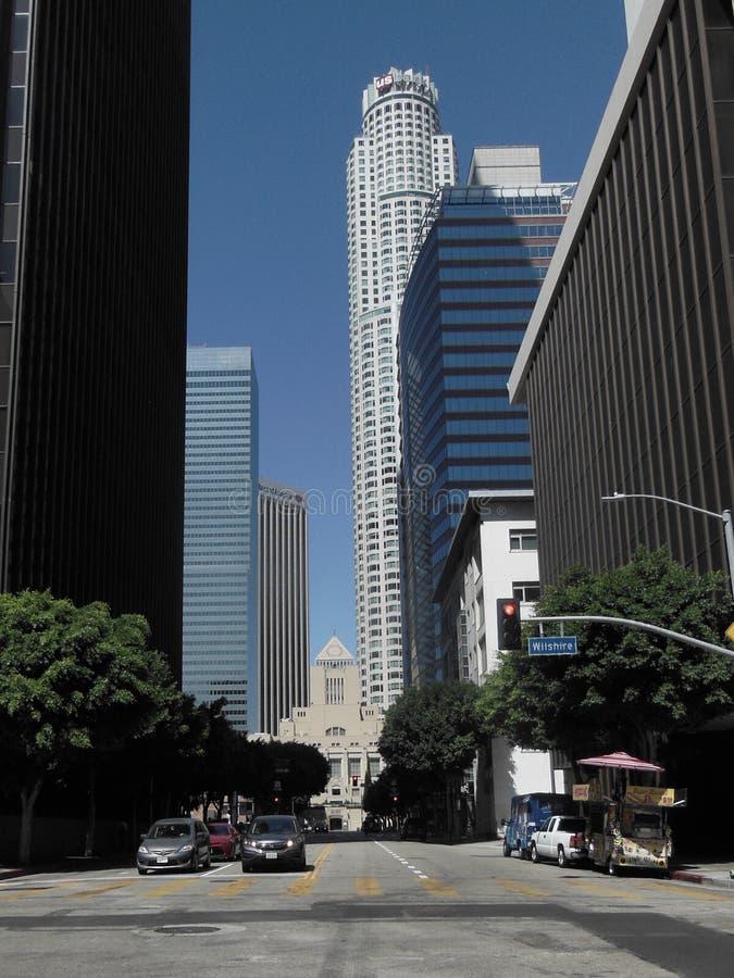 Los Angeles Skyscrapers i biblioteka zdjęcia stock