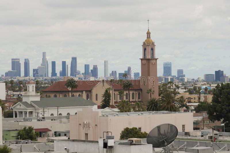 Los Angeles-Stadtbild lizenzfreie stockbilder