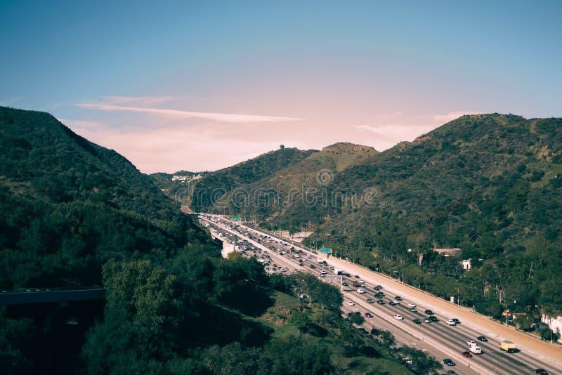 Los Angeles Traffic stock image