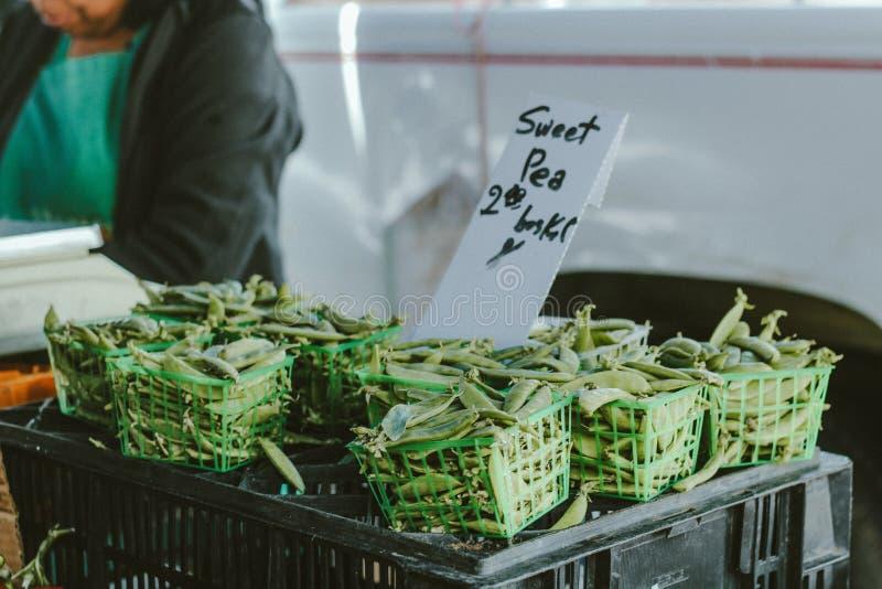 Farmer market stock photography