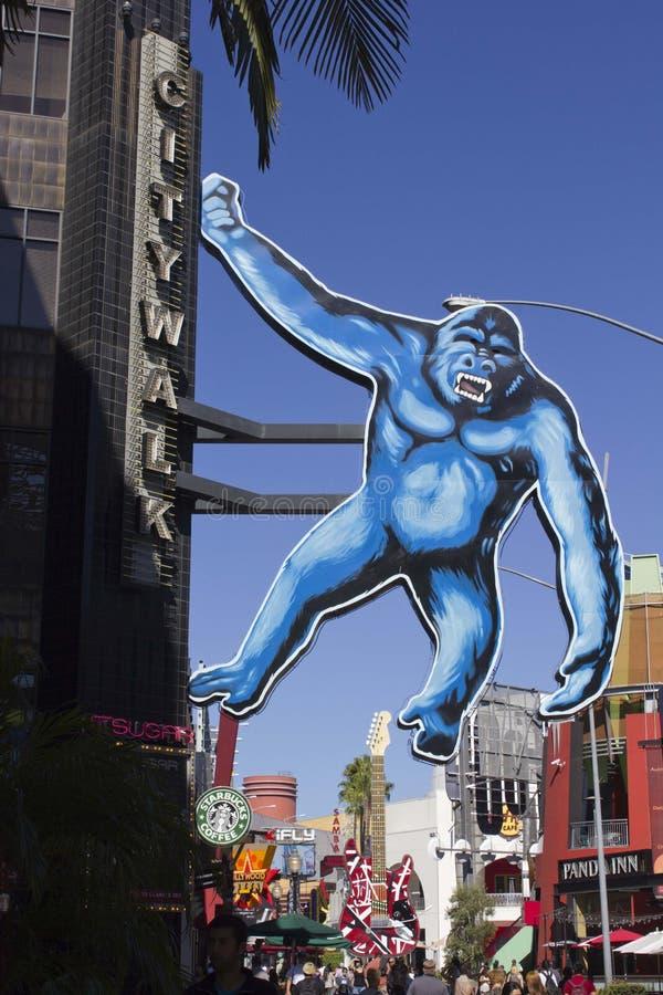 Los Angeles Universele Studio_King Kong royalty-vrije stock foto