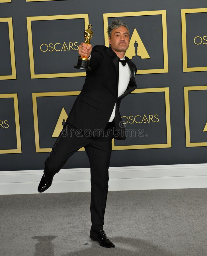Taika Waititi. LOS ANGELES, USA. February 09, 2020: Taika Waititi at the 92nd Academy Awards at the Dolby Theatre..Picture: Paul Smith/Featureflash stock image