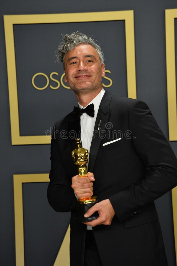 Taika Waititi. LOS ANGELES, USA. February 09, 2020: Taika Waititi at the 92nd Academy Awards at the Dolby Theatre..Picture: Paul Smith/Featureflash stock photo